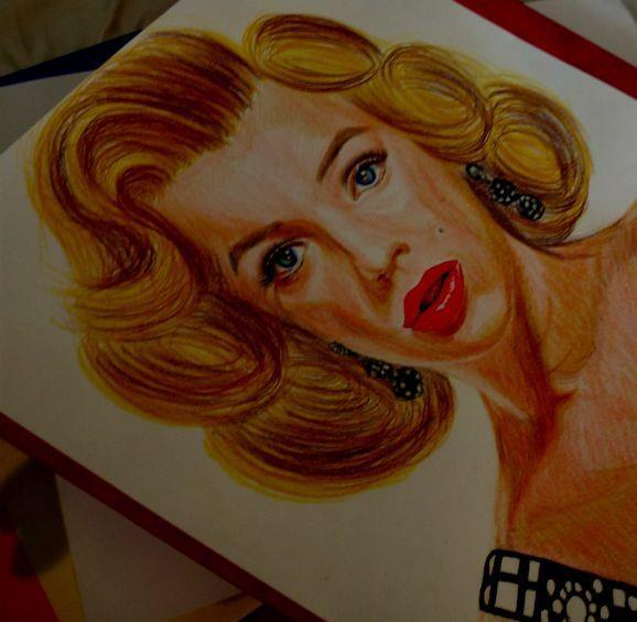 Marilyn Monroe por yamilaalmara